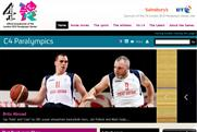 Channel 4: website will host coverage of the Paralympics