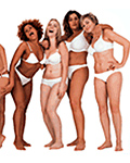 Dove: makes virtue of using 'real' women
