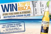 Corona Extra: launches Ibiza activity