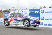Peugeot: campaign supports British rally driver Guy Wilks