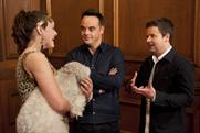 Britain's Got Talent winners Ashleigh and Pudsey with Ant and Dec