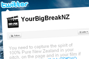Big Break NZ: tourism campaign launches Twitter site