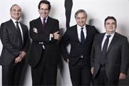 Havas Media management team:  Jordi Ustrell, Dominique Delport, Alfonso Rodes and Michel Sibony