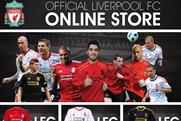 Liverpool FC: takes online shop mobile
