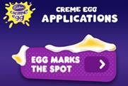 Cadbury: launching Creme Egg iPhone apps