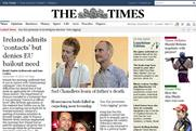 The Times: website now available to Three customers for free trial