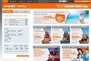EasyJet Holidays: launching through Teletext