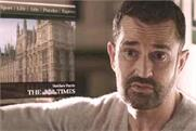 The Times: Rupert Everett in the paper's latest campaign