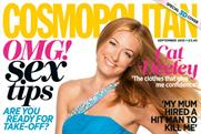 Cosmopolitan: 3D cover featured on copies exclusive to Tesco