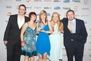 Winners: the MediaCom team received Media Agency of the Year prize at the Arqivas