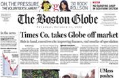 Boston Globe: NY Times Company cancels sale