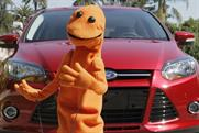Ford: brings company spokespuppet Doug to the UK