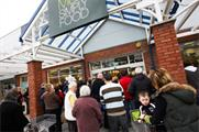 Marks & Spencer reports lower sales, profits and marketing spend