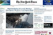 Paywall sees traffic falls at the New York Times