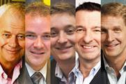 L-R: Wheatley, Taunton, Dickens, Parkinson, Taylor