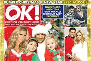 OK! magazine: festive issue of the Northern & Shell title