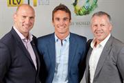 Lawrence Dallaglio, Thom Evans and Sean Fitzpatrick: host ITV's Rugby World Cup coverage
