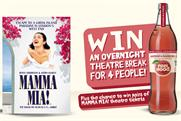 Feel Good Drinks: partners with Mamma Mia! for on-pack promotion