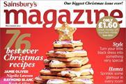 Sainsbury's: readies bumper Christmas 2011 issue