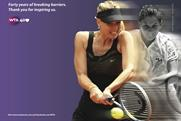 WTA: Maria Sharapova and Monica Seles are featured in the 40 Love campaign