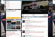 Sky Sports: runs F1 Twitter competition