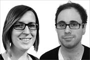 Caroline O'Donoghue, account manager, Brandwatch, and Andrew Blakeley, social strategist, DDB