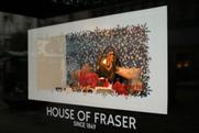 House of Fraser: Christmas 2011 display