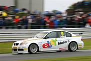 eBay: sponsoring touring car team