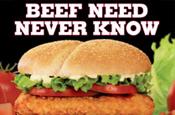 Burger King: Tendercrisp chicken burger campaign