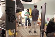Behind the scenes on the Weetabix shoot