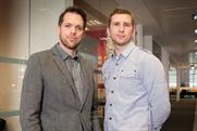 Dan Harrison (left) and Jonny Watson: DLKW Lowe's new digital creative directors