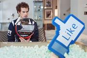 Andy Murray: stars in Head viral