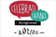 N0tice: runs 'my high street' campaign