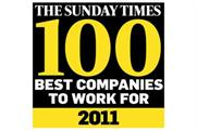 Sunday Times: agencies make this years's list