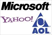 Microsoft, Yahoo and AOL: seal ad agreement