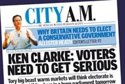 City AM: producing one-off election results special tomorrow