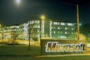 Microsoft: calls $1bn media review in the US and Canada