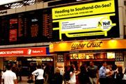 Yell.com: boosts its presence at stations across the UK