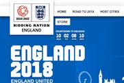 England 2018: social media campaign launched