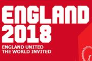 England 2018: launches social media campaign