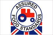 Red Tractor: awards stamp to KFC