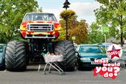 "The National Lottery: ""monster truck"" campaign"
