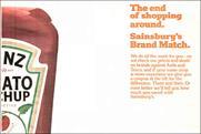 Sainsbury's: rival Asda challenged Brand Match scheme ads