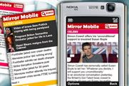 Mirror Mobile: reports strong incremental reach