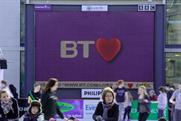BT: rolls out Valentine's screens across the UK
