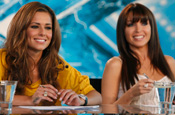 X Factor: judges Cheryl Cole and Dannii Minogue