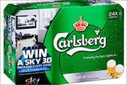 Carlsberg: partners Sky for on-pack promotion