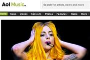 AOL Music: pop and rock music site is relaunched
