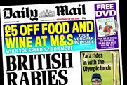 Daily Mail: 5p cover-price rise helped boost DMGT's underlying circulation revenues