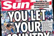 The Sun: a message to England players